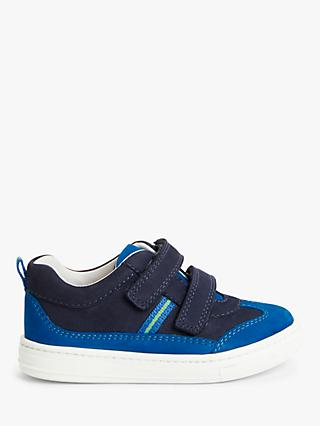 John Lewis & Partners Stripe Pre-Walker Trainers