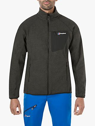 Berghaus Deception 2.0 Full Zip Men's Fleece Jacket, Jet Black Marl