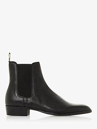 Bertie Marshall Leather Chelsea Boots, Black