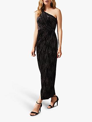 Phase Eight Glitterati Maxi Dress, Black