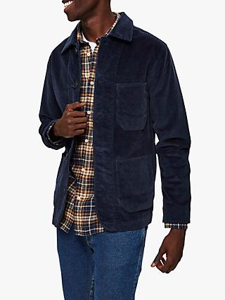 SELECTED HOMME Jackson Corduroy Jacket, Sky Captain