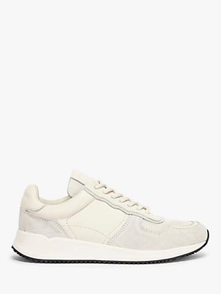 AllSaints Elisa Lace Up Trainers, White