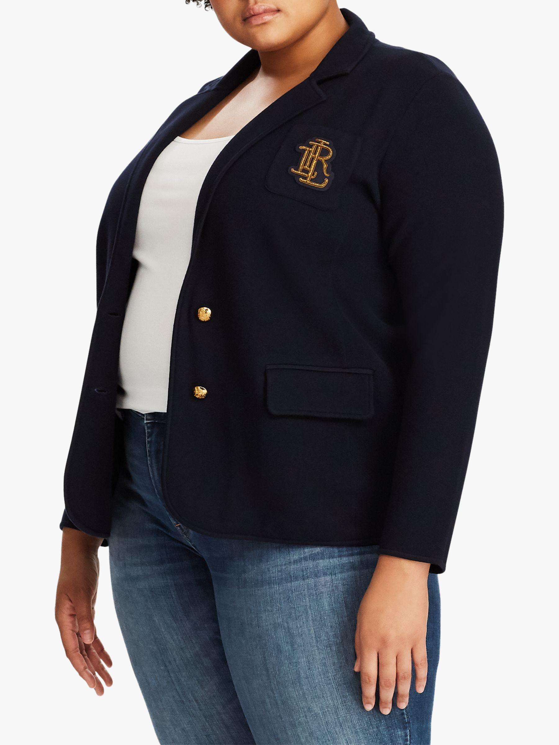 Ralph Lauren Lauren Ralph Lauren Curve Alvarta Jacket, Lauren Navy