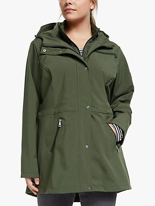 Lauren Ralph Lauren Curve Soft Shell Coat, Light Olive