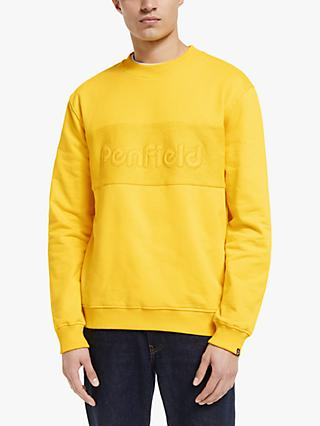 Penfield Thorndike Crew Sweatshirt, Freesia Yellow
