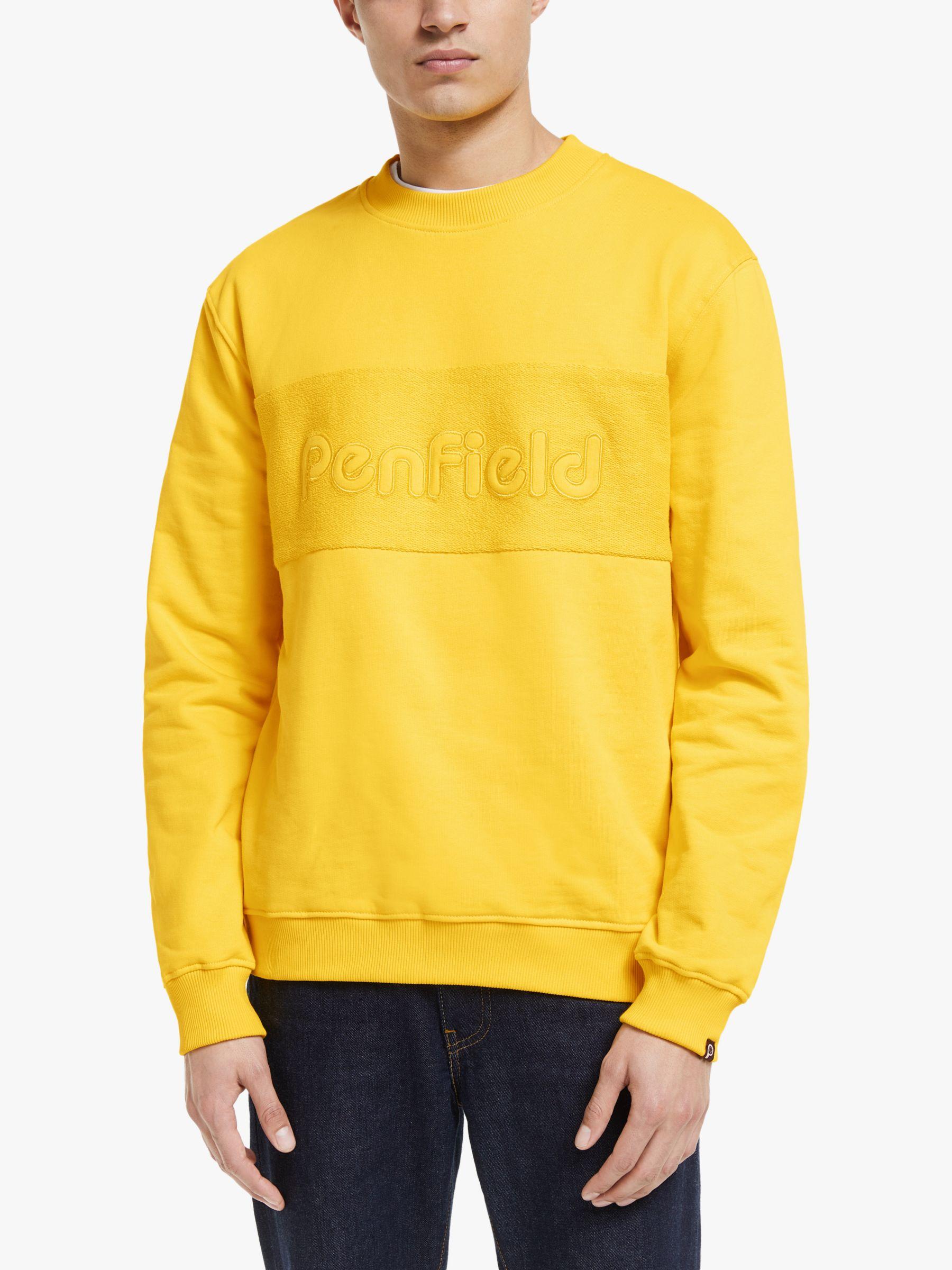 Penfield Penfield Thorndike Crew Sweatshirt, Freesia Yellow