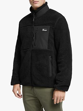 Penfield Mattawa Full Zip Fleece, Black
