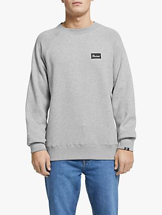 Penfield Errol Crew Sweatshirt, Grey Marl