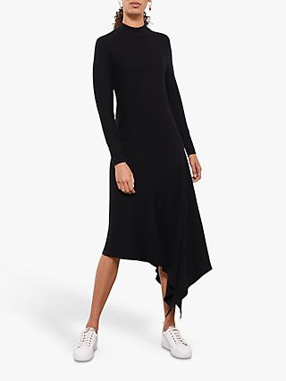 Mint Velvet Midi Jumper Dress, Black