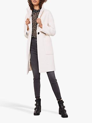 Mint Velvet Boucle Boyfriend Coat