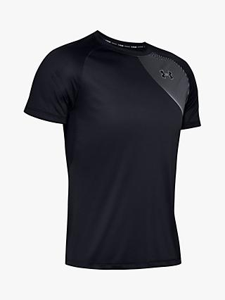 Under Armour Qualifier Iso-Chill Run Short Sleeve Running Top, Halo Grey