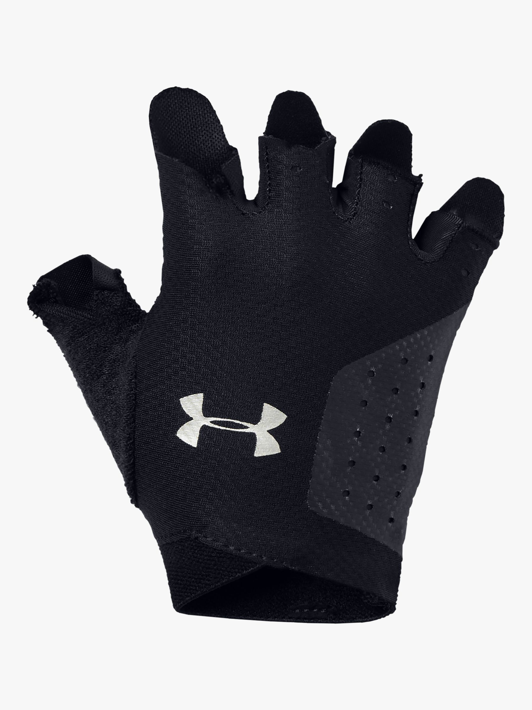 Under Armour Under Armour Women's Light Training Gloves, Black/Silver