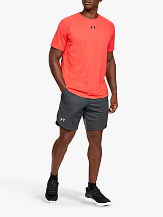 Under Armour Knit Performance Training Shorts, Black/Mod Grey