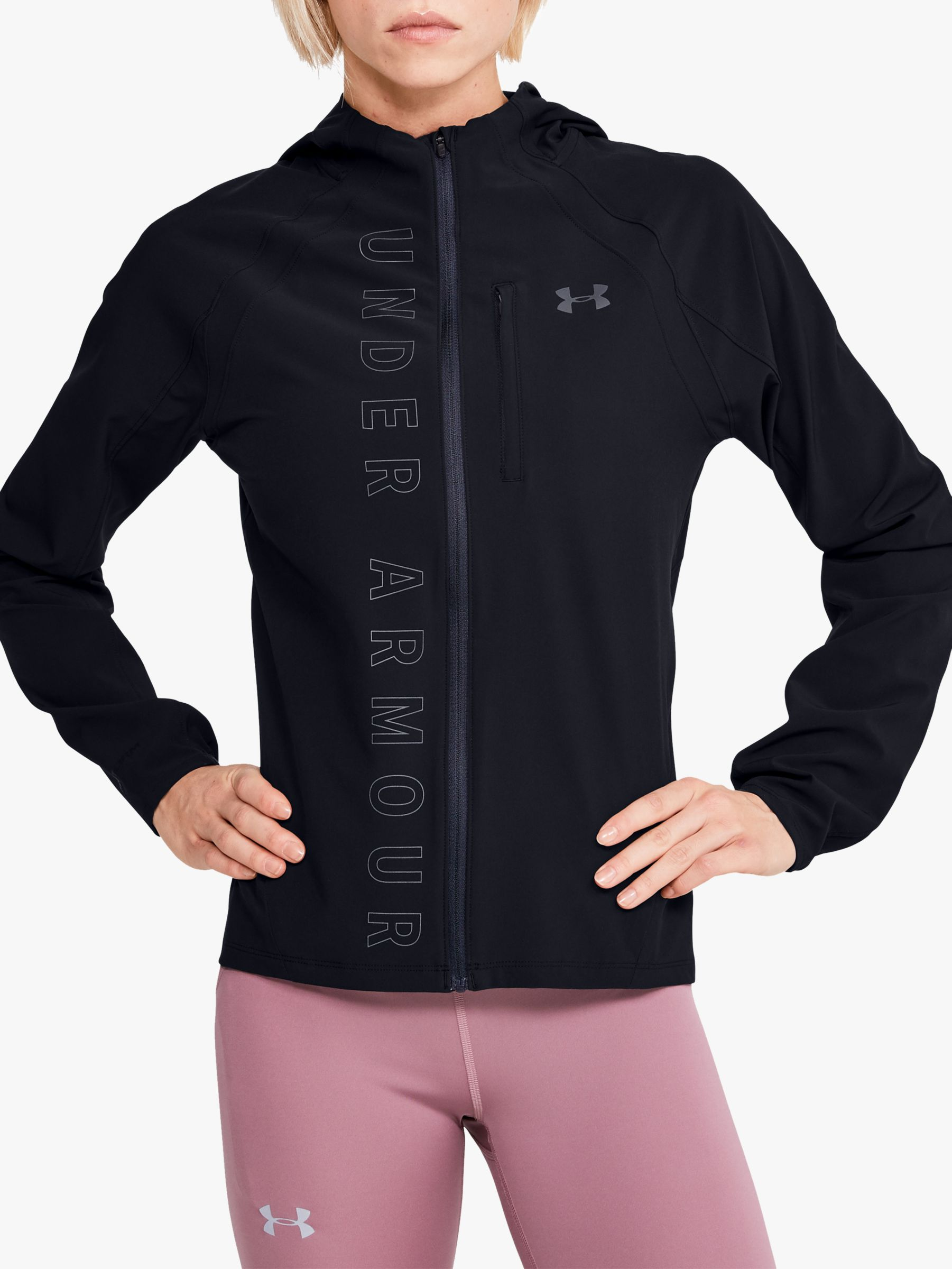 Under Armour Under Armour Qualifier Outrun The Storm Women's Running Jacket, Black