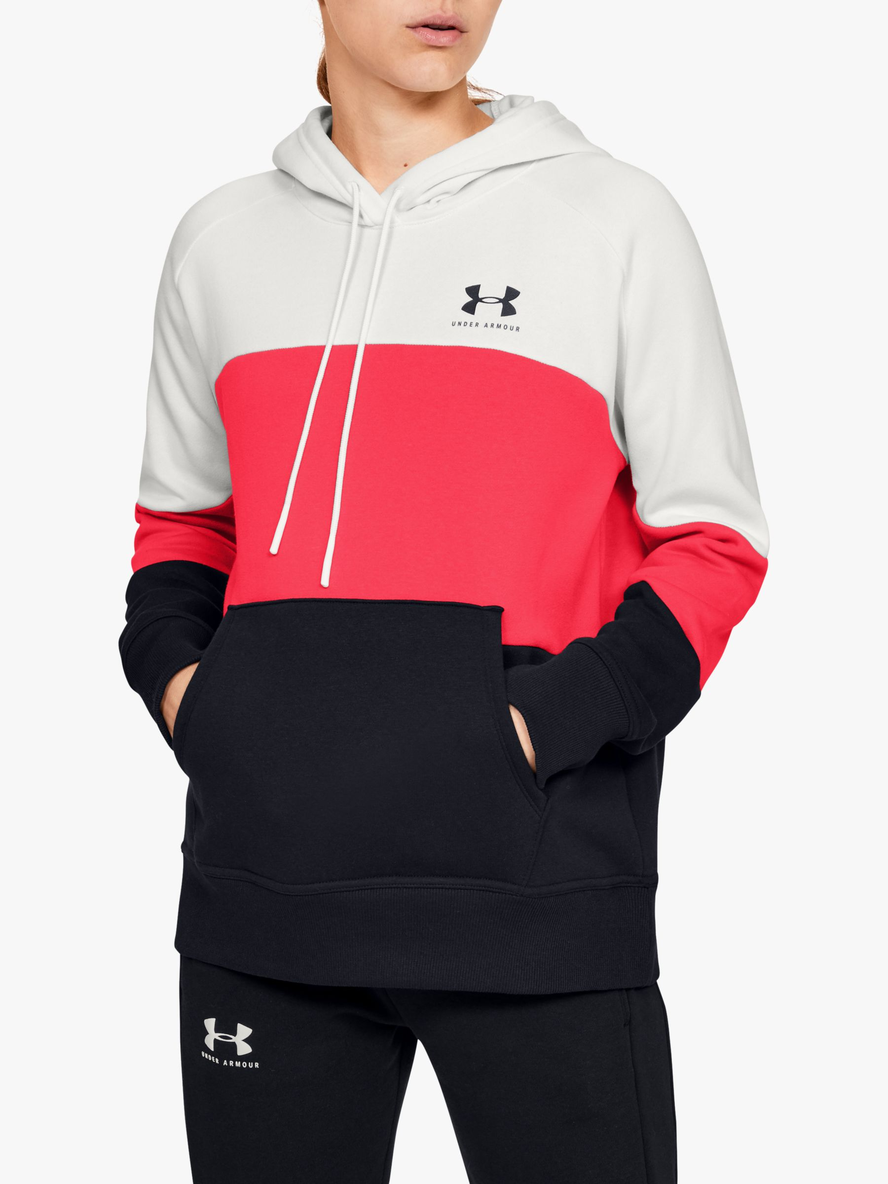 Under Armour Under Armour Rival Fleece Colour Block Training Hoodie