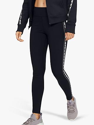 Under Armour Favourite Branded Training Tights, Black/Onyx White
