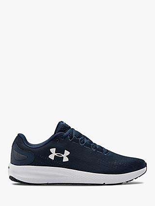 Under Armour Charged Pursuit 2 Men's Running Shoes, Academy/White