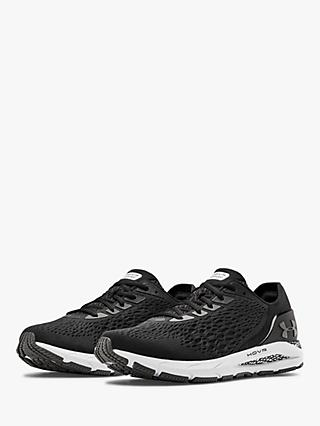 Under Armour HOVR Sonic 3 Men's Running Shoes, Black/White
