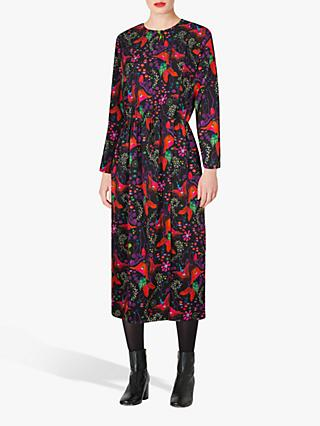 PS Paul Smith Earthling Floral Dress, Black