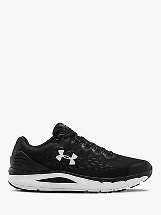 Under Armour Charged Intake 4 Men's Running Shoes, Black/White