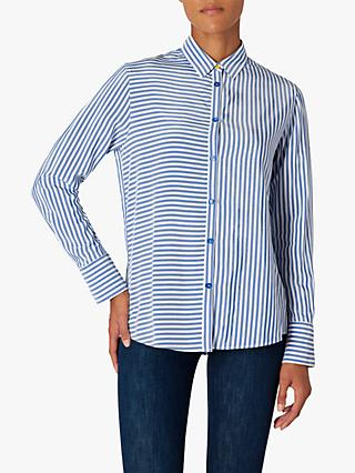 PS Paul Smith Stripe Shirt, Cobalt Blue