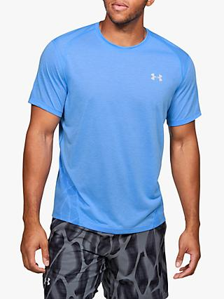 Under Armour Streaker 2.0 Shift Short Sleeve Running Top, Versa Blue