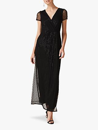 Phase Eight Natasia Maxi Dress, Black