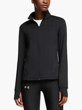 Under Armour Rush Women's Running Jacket, Black