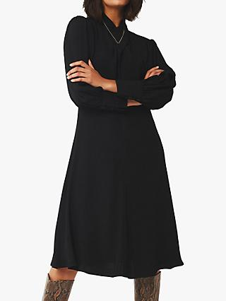 Ghost Bienna Shirt Dress, Black