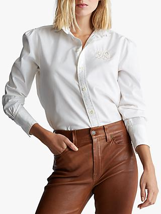 Polo Ralph Lauren Bria Long Sleeve Shirt, White