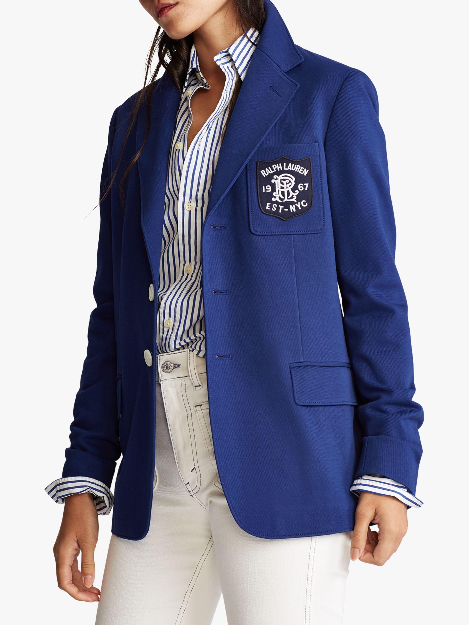 Ralph Lauren Polo Ralph Lauren Jacquard Blazer, Fall Royal