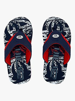 Animal Children's Jekyl Logo Flip Flops