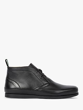 PS Paul Smith Cleon Leather Chukka Boots, Black
