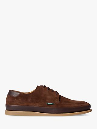 PS Paul Smith Broc Suede Shoes, Chocolate