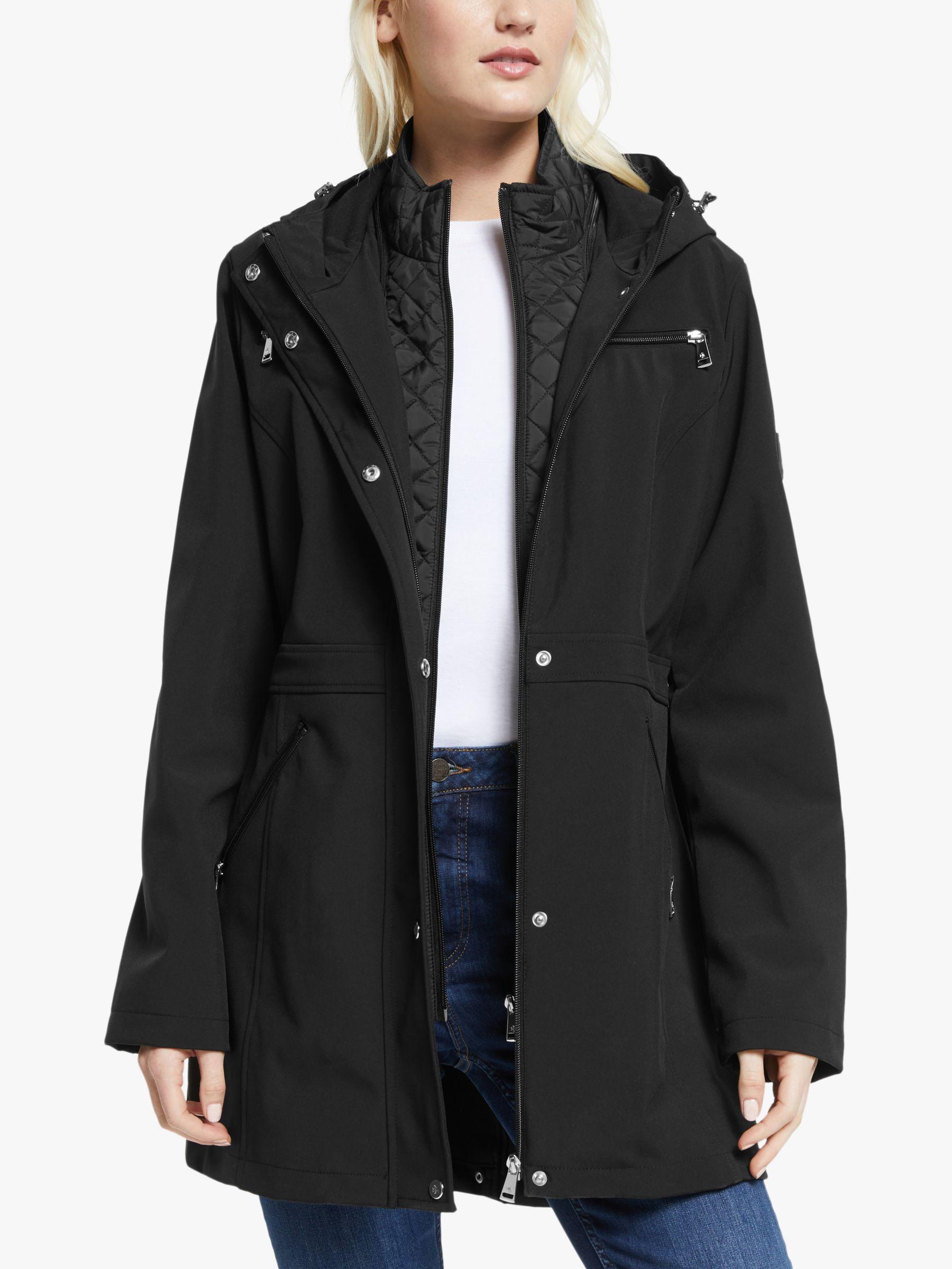 Ralph Lauren Lauren Ralph Lauren Soft Shell Quilted Coat, Black