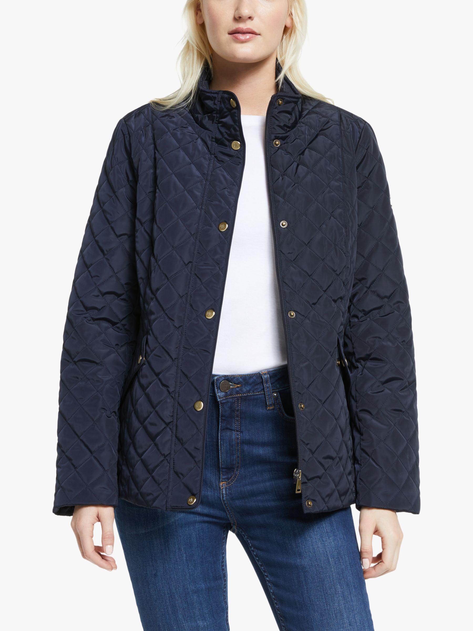 Ralph Lauren Lauren Ralph Lauren Quilted Jacket, Dark Navy