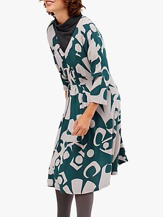White Stuff Ida Dress, Teal