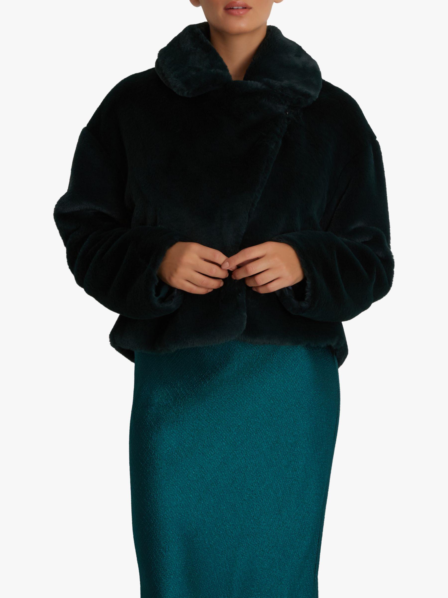 Fenn Wright Manson Fenn Wright Manson Amanda Holden Collection Judy Faux Fur Jacket, Green