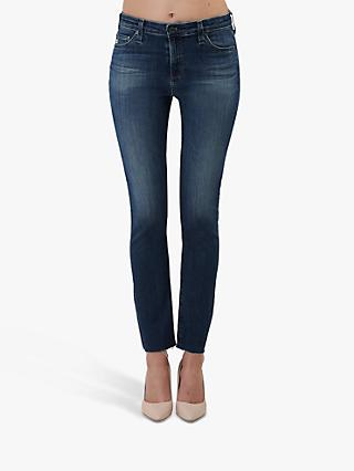 AG The Mari High Rise Slim Straight Leg Jeans, 12 Years Idiosyncratic
