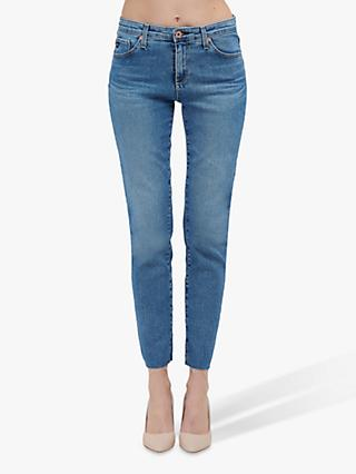 AG The Prima Skinny Cigarette Ankle Jeans, Precision