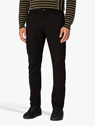 PS Paul Smith Straight Fit Chinos, Black
