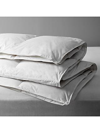 John Lewis & Partners Natural Duck Feather and Down 3-in-1 Duvet, 13.5 Tog (4.5 + 9 Tog)