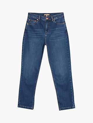 Oasis Boyfriend Jeans, Dark Wash Blue