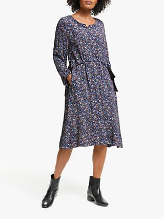 Masai Copenhagen Noatta Paisley Print Dress, Royal Blue