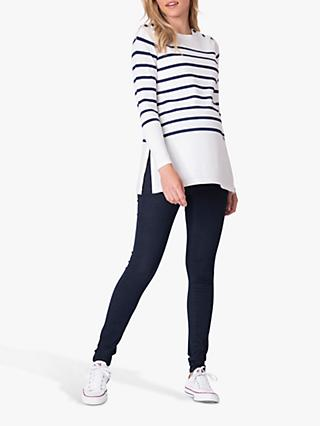 Séraphine Nautical Stripe Maternity and Nursing Jumper, Multi