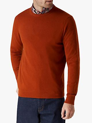 Jaeger Exposed Racking Detail Cashmere Jumper