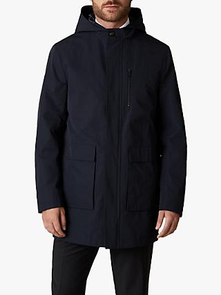Jaeger Technical Hooded Parka, Navy