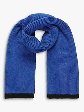 Brora Cashmere Ribbed Scarf
