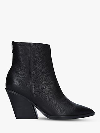 Dolce Vita Issa Cuban Heel Ankle Boots, Black