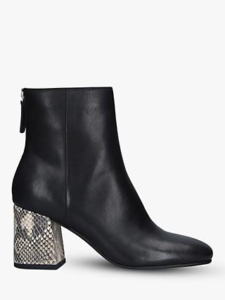 Dolce Vita Vidal Leather Ankle Boots, Black